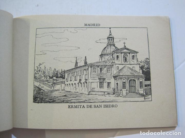 Postales: MADRID-VISTAS COMPLETAS DE ESPAÑA-BLOC CON VISTAS DIBUJADAS-VER FOTOS-(K-38) - Foto 16 - 216609393
