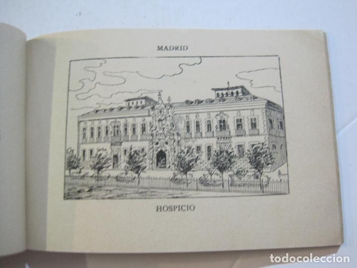 Postales: MADRID-VISTAS COMPLETAS DE ESPAÑA-BLOC CON VISTAS DIBUJADAS-VER FOTOS-(K-38) - Foto 17 - 216609393