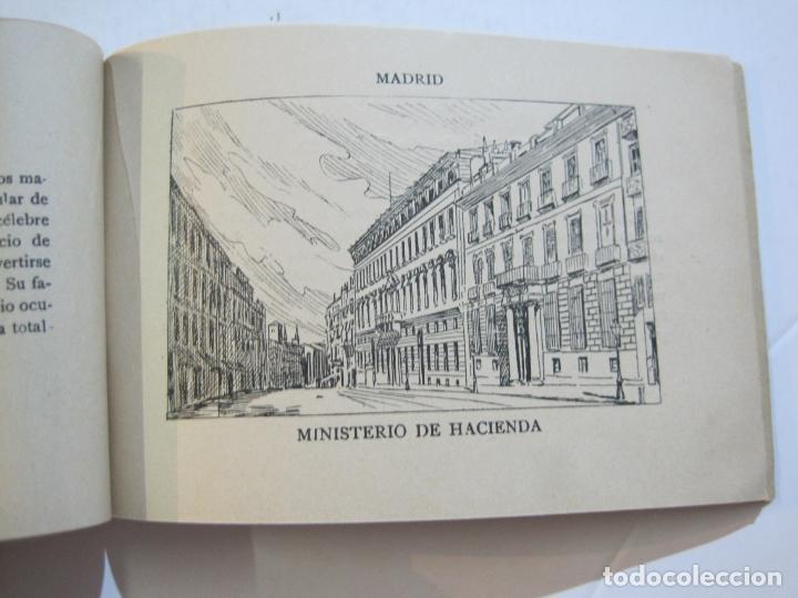 Postales: MADRID-VISTAS COMPLETAS DE ESPAÑA-BLOC CON VISTAS DIBUJADAS-VER FOTOS-(K-38) - Foto 19 - 216609393