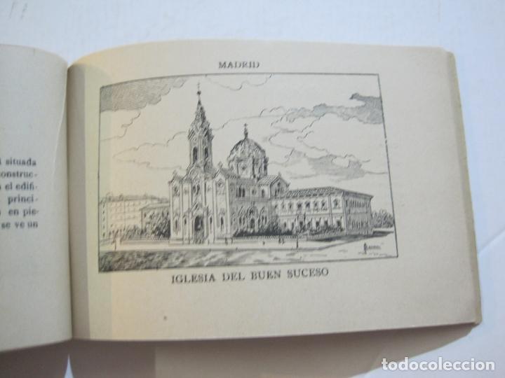 Postales: MADRID-VISTAS COMPLETAS DE ESPAÑA-BLOC CON VISTAS DIBUJADAS-VER FOTOS-(K-38) - Foto 21 - 216609393