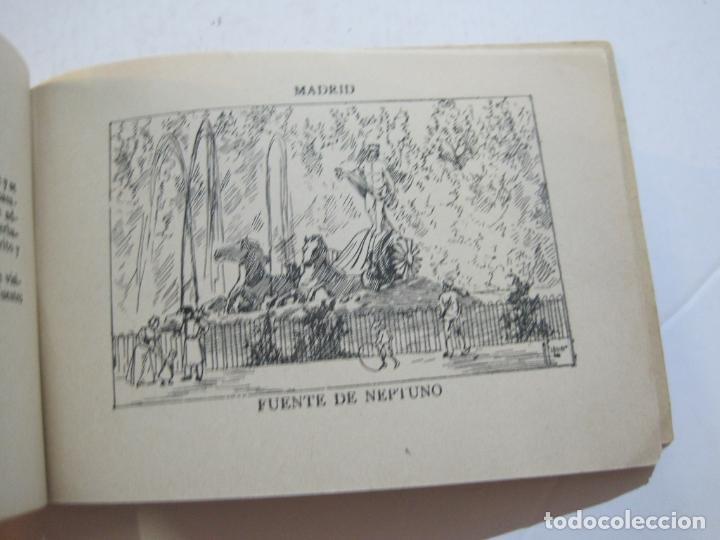 Postales: MADRID-VISTAS COMPLETAS DE ESPAÑA-BLOC CON VISTAS DIBUJADAS-VER FOTOS-(K-38) - Foto 26 - 216609393