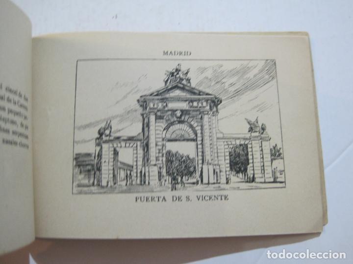 Postales: MADRID-VISTAS COMPLETAS DE ESPAÑA-BLOC CON VISTAS DIBUJADAS-VER FOTOS-(K-38) - Foto 28 - 216609393