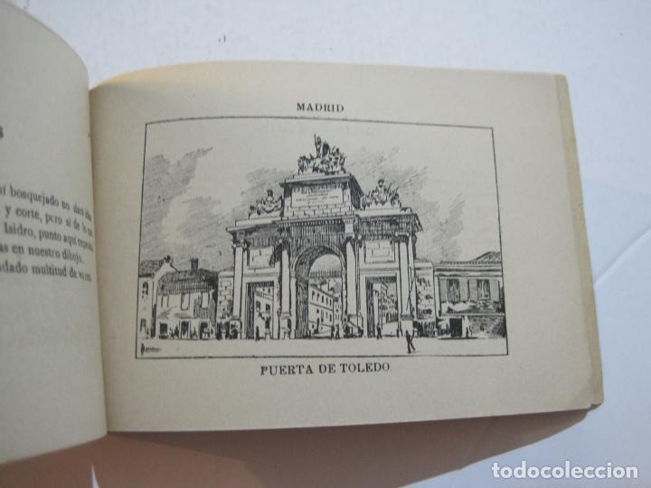 Postales: MADRID-VISTAS COMPLETAS DE ESPAÑA-BLOC CON VISTAS DIBUJADAS-VER FOTOS-(K-38) - Foto 29 - 216609393