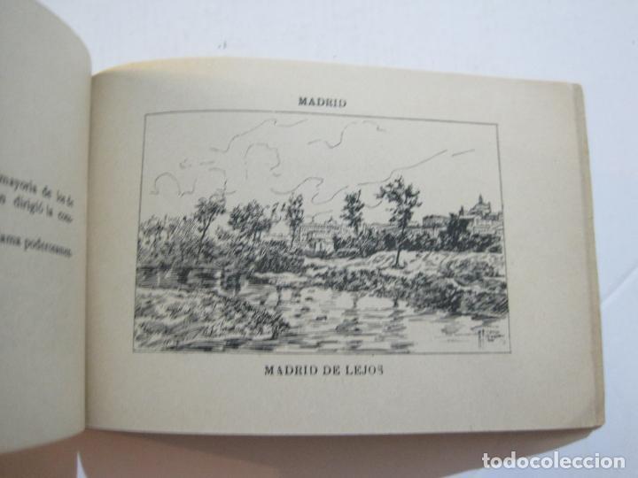 Postales: MADRID-VISTAS COMPLETAS DE ESPAÑA-BLOC CON VISTAS DIBUJADAS-VER FOTOS-(K-38) - Foto 31 - 216609393