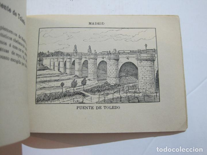 Postales: MADRID-VISTAS COMPLETAS DE ESPAÑA-BLOC CON VISTAS DIBUJADAS-VER FOTOS-(K-38) - Foto 32 - 216609393