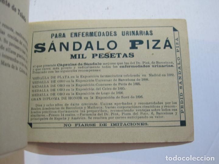 Postales: MADRID-VISTAS COMPLETAS DE ESPAÑA-BLOC CON VISTAS DIBUJADAS-VER FOTOS-(K-38) - Foto 33 - 216609393
