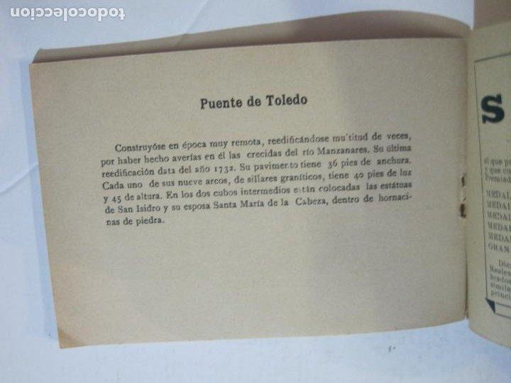 Postales: MADRID-VISTAS COMPLETAS DE ESPAÑA-BLOC CON VISTAS DIBUJADAS-VER FOTOS-(K-38) - Foto 34 - 216609393