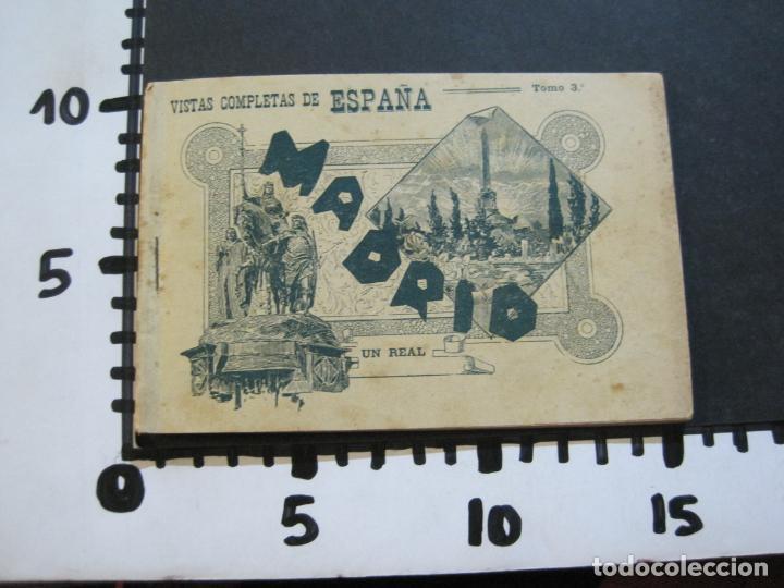 Postales: MADRID-VISTAS COMPLETAS DE ESPAÑA-BLOC CON VISTAS DIBUJADAS-VER FOTOS-(K-38) - Foto 36 - 216609393