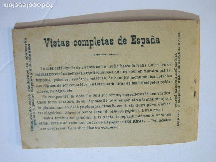 Postales: MADRID-VISTAS COMPLETAS DE ESPAÑA-BLOC CON VISTAS DIBUJADAS-VER FOTOS-(K-38) - Foto 35 - 216609393