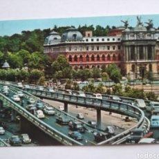 Cartoline: POSTAL 302 MADRID GLORIETA DEL EMPERADOR CIRCULADA AÑO 1969. Lote 216941647