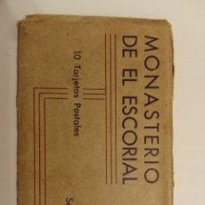 Postales: MONASTERIO DEL ESCORIAL 20 TARJETAS POSTALES SERIE II. Lote 217042912