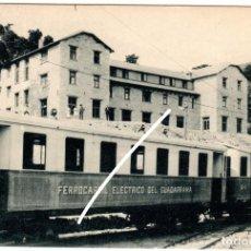 Postales: PRECIOSA POSTAL - PUERTO DE NAVACERRADA (MADRID) - REAL HOTEL VICTORIA - ALTITUD 1840 METROS. Lote 217046615