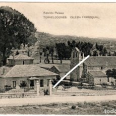 Postales: BONITA POSTAL - TORRELONES (MADRID) - IGLESIA PARROQUIAL - EDICION PELAEZ. Lote 217051916