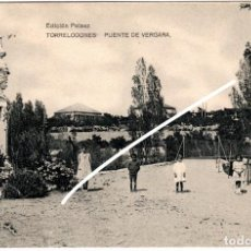 Postales: BONITA POSTAL - TORRELONES (MADRID) - PUENTE DE VERGARA - EDICION PELAEZ. Lote 217052028