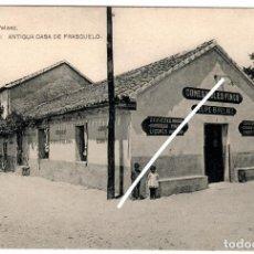 Postales: PRECIOSA POSTAL - TORRELONES (MADRID) - COLONIA - ANTIGUA CASA DE FRASCUELO - EDICION PELAEZ. Lote 217052227