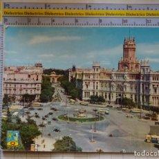 Postais: POSTAL DE MADRID. AÑOS 50. LA CIBELES Y PALACIO DE COMUNICACIONES. 2 DOMÍNGUEZ. 1779. Lote 217116521