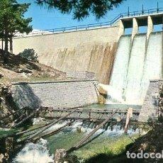 Postales: POSTAL CERCEDILLA - PRESA DE LAOS BERCEOS (EDICIONES VISTABELLA Nº 15). Lote 217521621