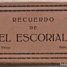Postales: BLOG RECUERDO DE EL ESCORIAL - 15 VISTAS - SERIE II - EDICIONES M. ARRIBAS (ZARAGOZA). Lote 217594072