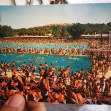 Cartes Postales: POSTAL MÁDRID PISCINA DEL PARQUE SINDICAL N 166 DOMÍNGUEZ S/C. Lote 217694278