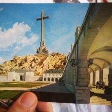 Postales: POSTAL SANTA CRUZ DEL VALLE DE LOS CAÍDOS DETALLE PARTE POSTERIOR CON EL CONVENTO Y SEMINARIO N 24 P. Lote 218230641