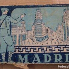 Postales: BLOC POSTALES MADRID- 32 POSTALES. Lote 218234250