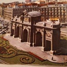 Postales: ANTIGUA POSTAL MADRID PUERTA DE ALCALÁ. Lote 218428038