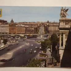 Postais: MADRID - GLORIETA DEL EMPERADOR CARLOS V Y CALLE ATOCHA - LMX - MAD2. Lote 218835765