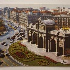 Postais: MADRID - LA PUERTA DE ALCALÁ - PUBLICIDAD IBERIA - LMX - MAD4. Lote 218849032