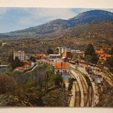 Postais: CERCEDILLA - ESTACIÓN DEL FERROCARRIL Y PEÑOTA - LMX - MAD5. Lote 218865205