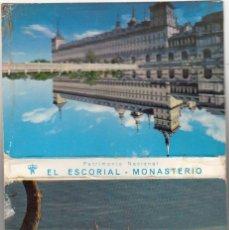 Postales: 21 POSTALES EN TIRA DEL MONASTERIO DEL ESCORIAL / GARCIA GARRABELLA - ZARAGOZA. Lote 219306317