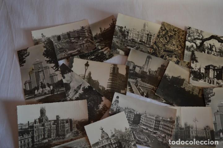 Postales: LOTE 20 POSTALES - Antiguas variadas - MADRID - Años 50 / 60 ¡Mira! - Foto 3 - 219501381