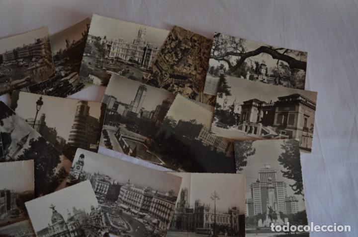 Postales: LOTE 20 POSTALES - Antiguas variadas - MADRID - Años 50 / 60 ¡Mira! - Foto 4 - 219501381