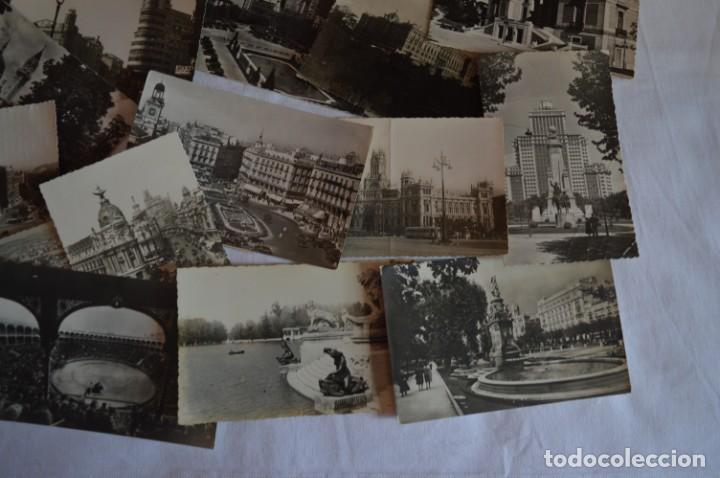 Postales: LOTE 20 POSTALES - Antiguas variadas - MADRID - Años 50 / 60 ¡Mira! - Foto 6 - 219501381