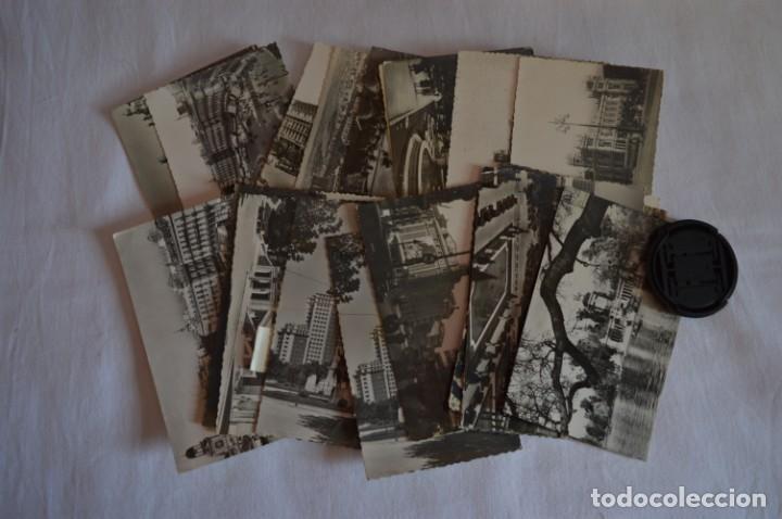 LOTE 20 POSTALES - ANTIGUAS VARIADAS - MADRID - AÑOS 50 / 60 ¡MIRA! (Postales - España - Madrid Moderna (desde 1940))