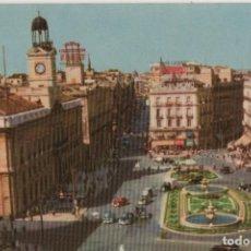 Postales: PUERTA DEL SOL-CIRCULADA Y SIN SELLO-MADRID. Lote 220525522