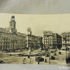 Postales: POSTAL HELIOTIPIA ARTÍSTICA ESPAÑOLA MADRID Nº 1 PUERTA DEL SOL BLANCO Y NEGRO CIRCULADA. Lote 220790678