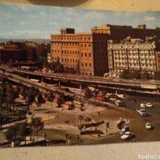 Cartes Postales: POSTAL DE MADRID 1968. GLORIETA DEL EMPERADOR CARLOS V. ESCRITO. Lote 220900671