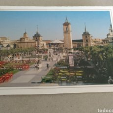 Postales: POSTAL DE MADRID. ALCALÁ DE HENARES. PLAZA CERVANTES. SIN CIRCULAR. Lote 220963945