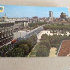 Postales: POSTAL DE MADRID. PALACIO REAL Y PLAZA ESPAÑA. CIRCULADA A VILLACARLOS MENORCA. Lote 220969021