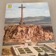 Postales: POSTAL DE MADRID. SANTA CRUZ DEL VALLE DE LOS CAÍDOS. SIN CIRCULAR. Lote 220970245