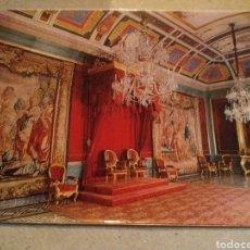 Postales: POSTAL DE MADRID. ARANJUEZ PALACIO REAL. SALÓN DEL TRONO. SIN CIRCULAR. Lote 221004238
