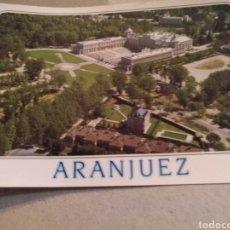 Postales: POSTAL DE MADRID. ARANJUEZ PALACIO REAL. VISTA AÉREA. SIN CIRCULAR. Lote 221004456