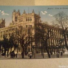 Postales: POSTAL DE MADRID. CASA DE CORREOS. SIN CIRCULAR. Lote 221004911