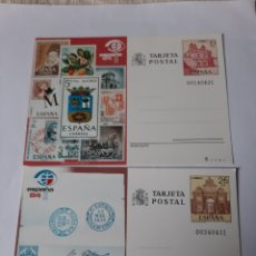 Postales: MADRID FILATELIA ESPAÑA 1984 ENTEROS POSTALES EDIFIL 135/136 FILATELIA COLISEVM. Lote 221075480