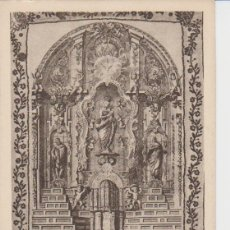 Postales: MADRID. RETABLE OU SAINT LOUIS DE GONZAGUE FUIT APPELE A LA COMPAGNIE DE JESUS. Lote 221141845