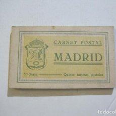 Postales: MADRID-BLOC CON 15 POSTALES ANTIGUAS-GRAFOS-VER FOTOS-(74.774). Lote 221161475
