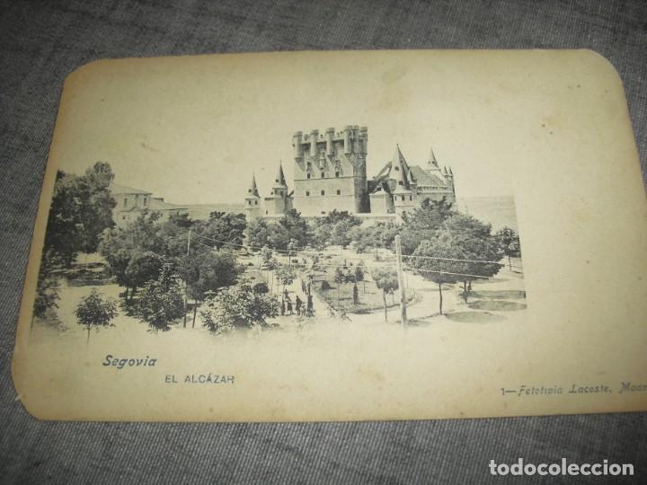ANTIGUA POSTAL SEGOVIA MADRID (Postales - España - Comunidad de Madrid Antigua (hasta 1939))