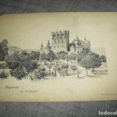 Postales: ANTIGUA POSTAL SEGOVIA MADRID. Lote 221174252