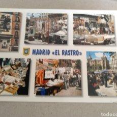Cartes Postales: POSTAL DE MADRID. DIVERSOS ASPECTOS. EL RASTRO. SIN CIRCULAR. Lote 221248981