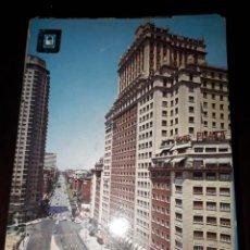Cartoline: Nº 39110 POSTAL MADRID EDIFICIO ESPAÑA Y CALLE PRINCESA. Lote 221325935